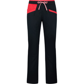 La Sportiva Temple Pants Women black/hibiscus